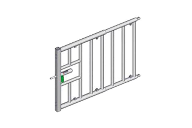 Abtrenngitter für Kälber - ausziehbare Tore und Abtrennungen in verschiedenen Ausführungen