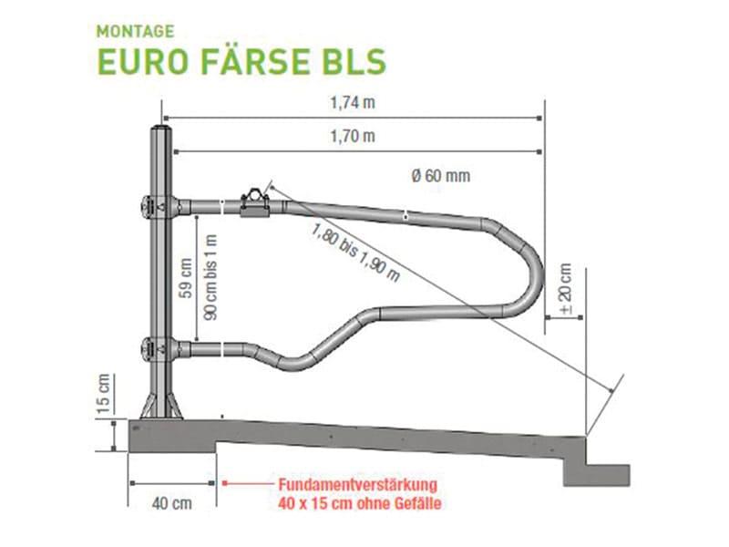 Boxenbügel für Liegeboxen Euro Färse BLS