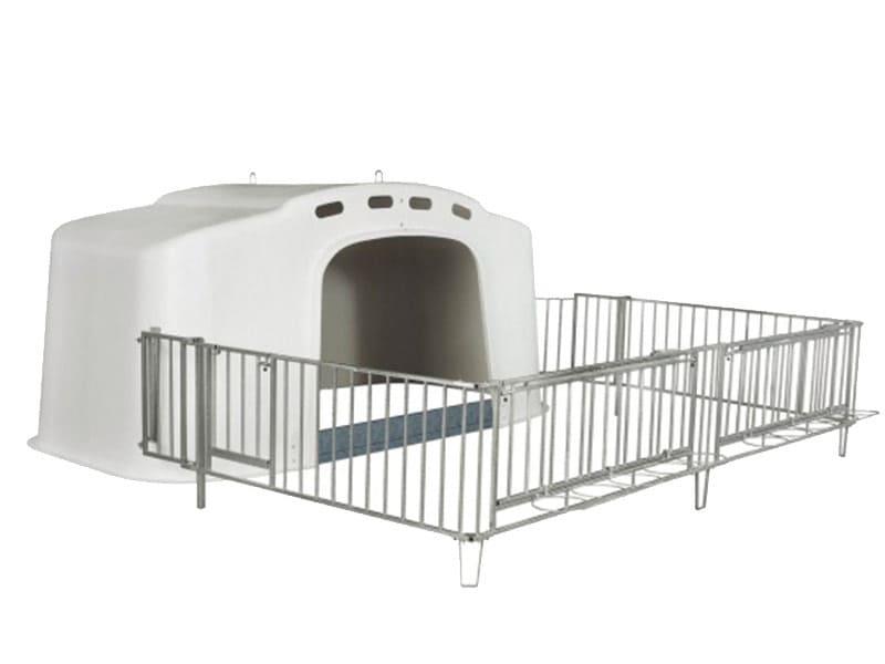 Kälberaufzucht Kälberbox Großraumiglu XL 10