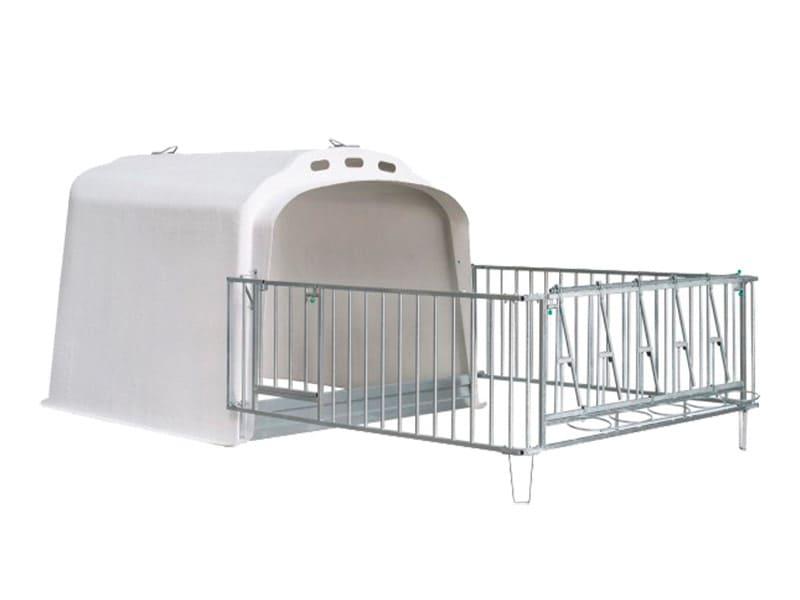 Kälberaufzucht Kälberbox Großraumiglu XL 5