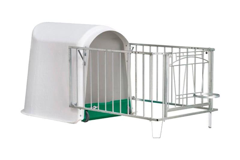 Kälberboxen für die Kälberaufzucht inklusvie Zubehör
